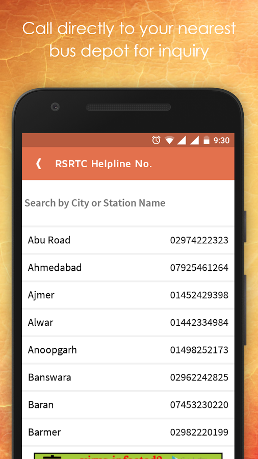 best bus time table application