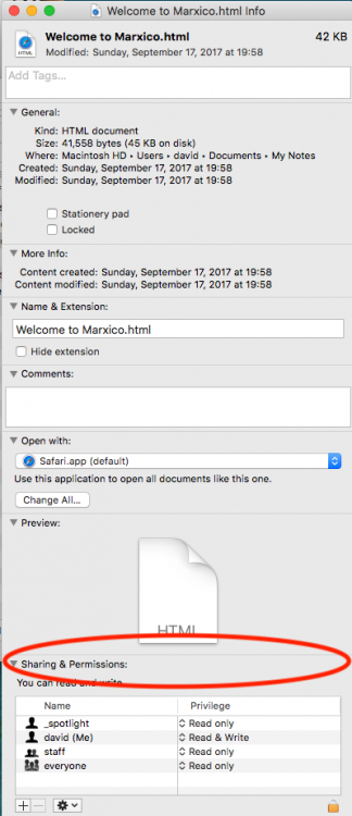 the application evernote does not have permission to open