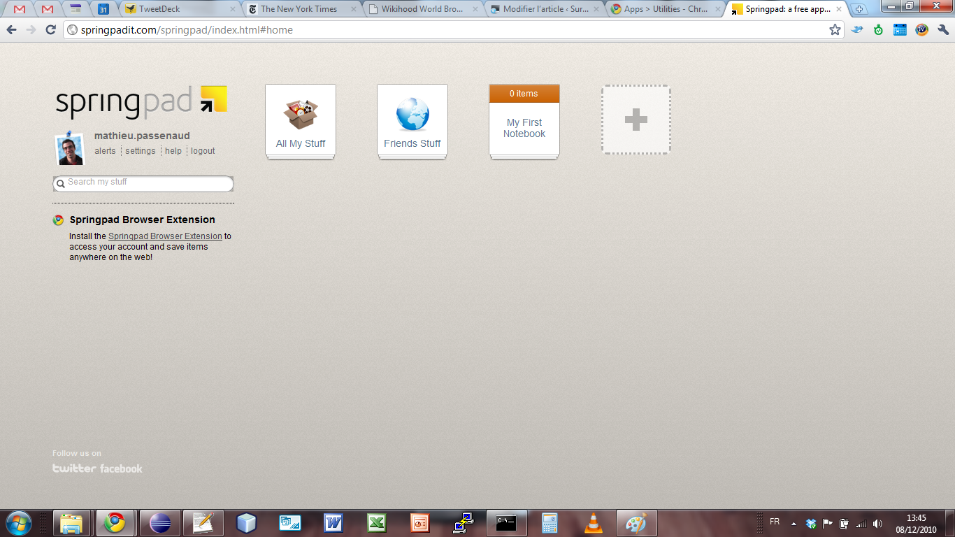 ou sont mes applications dans chrome