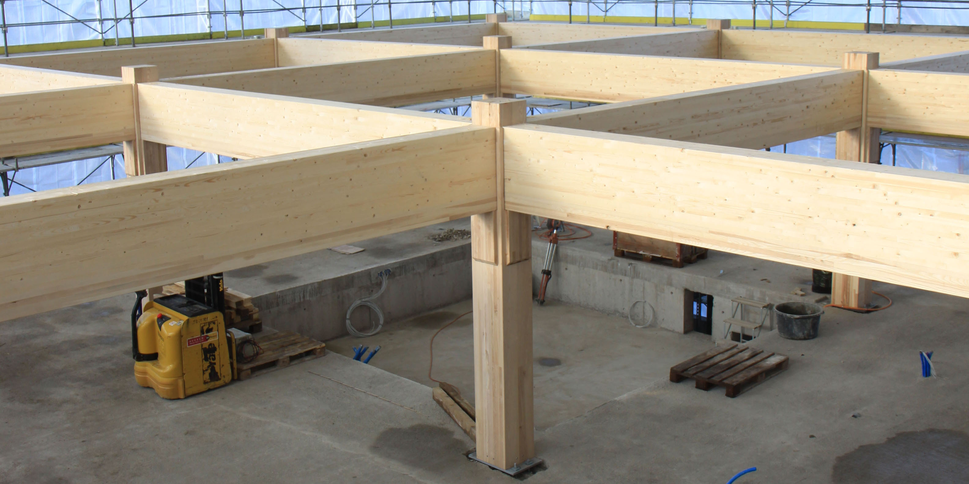application of timber concrete composite