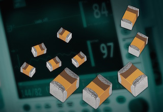 0402 capacitors for low leakage applications